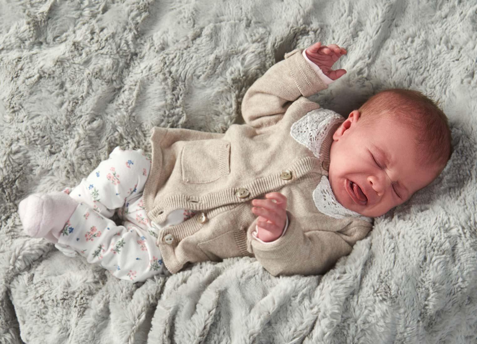 Babyfotografie – crying baby