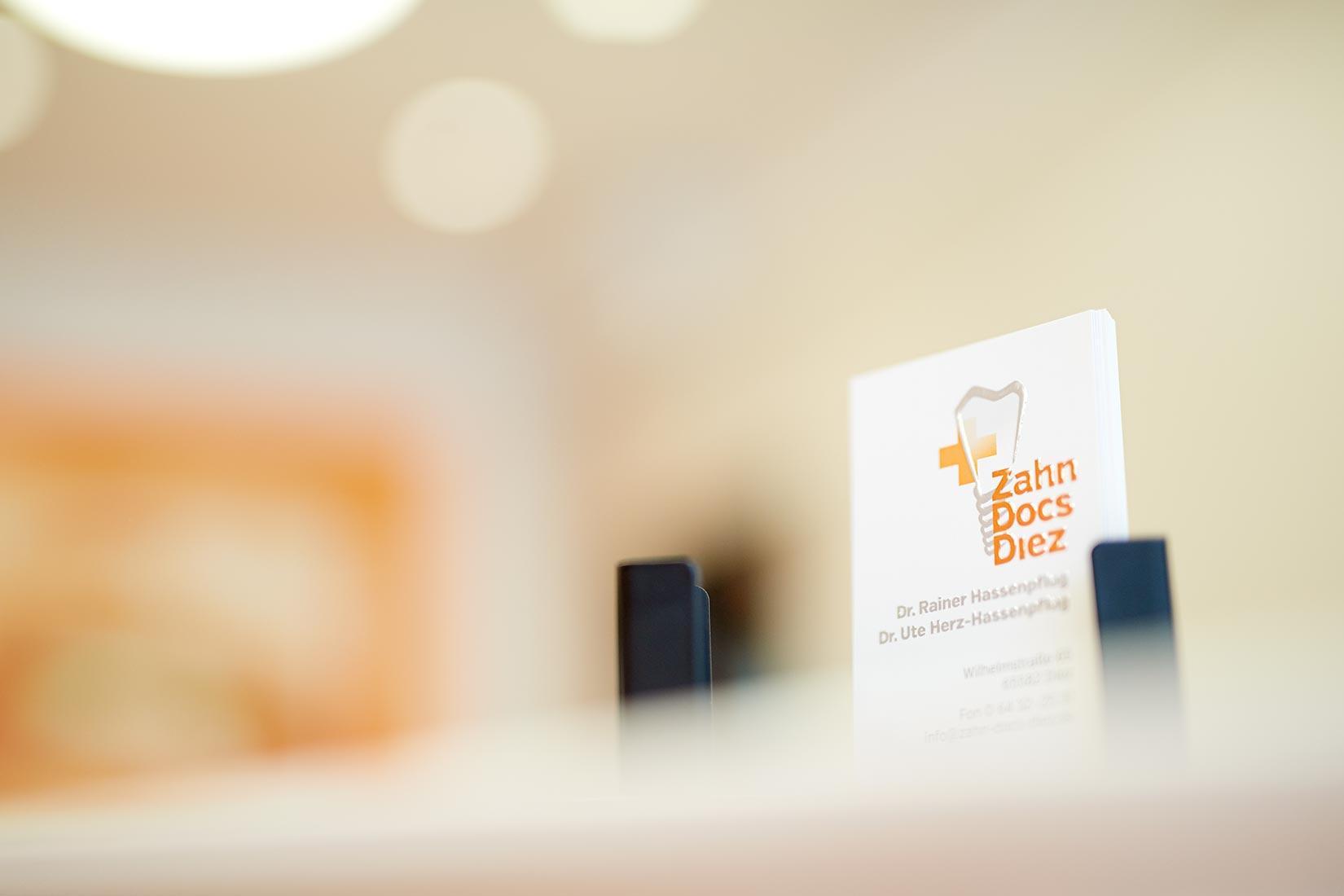Corporate Fotografie Ambiente Zahn Docs Diez