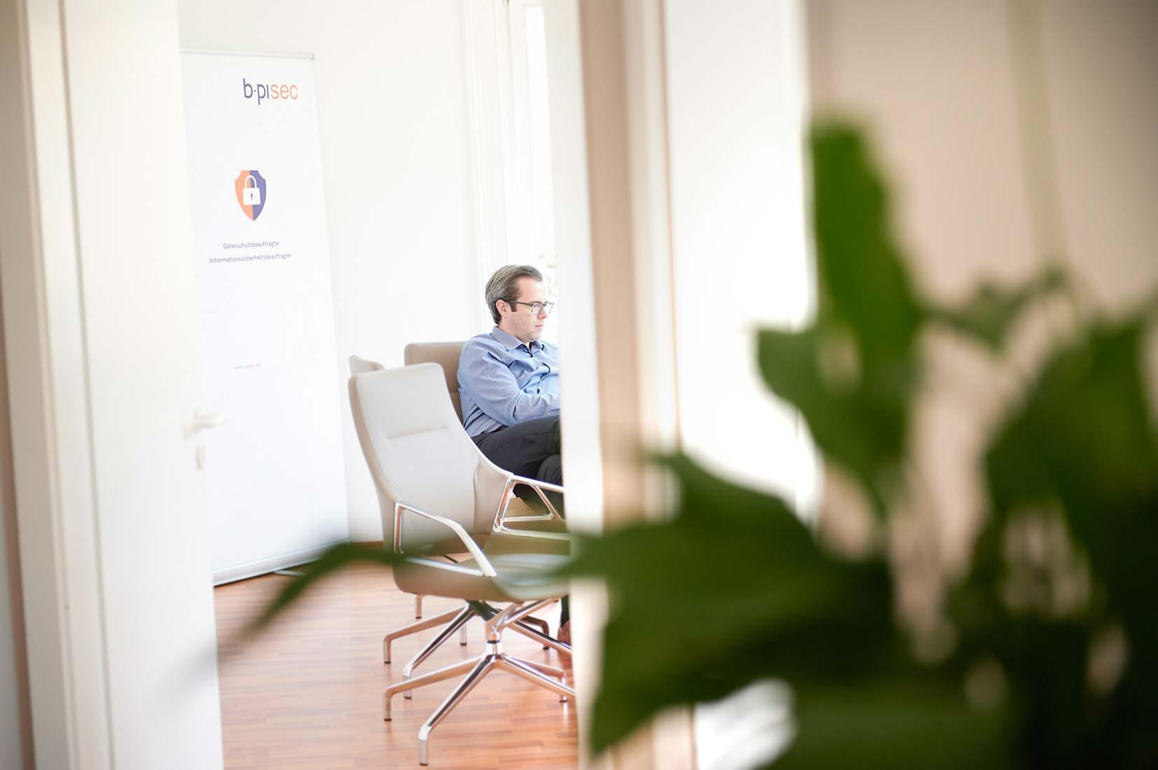 Corporate Portraitfoto Ambiente b-pisec GmbH in Limburg