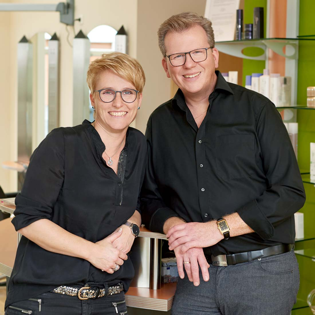 Corporate Portraitfoto Thorsten und Sandra Klees, Meudt