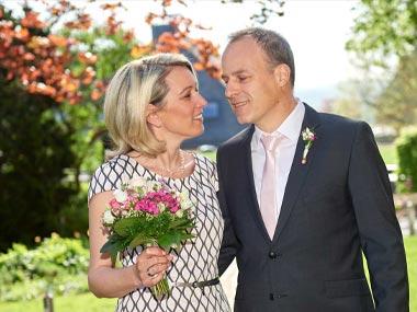 Hochzeitsfotos am Schloss Montabaur