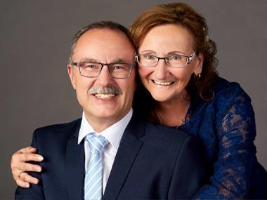 Hochzeitsfoto im Fotostudio Montabaur