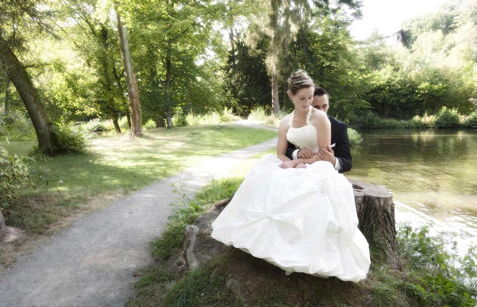 Romantische Hochzeitsfotografie