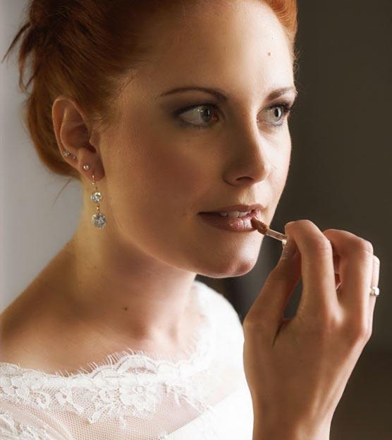 Braut Hochzeitsreportage Get-Ready