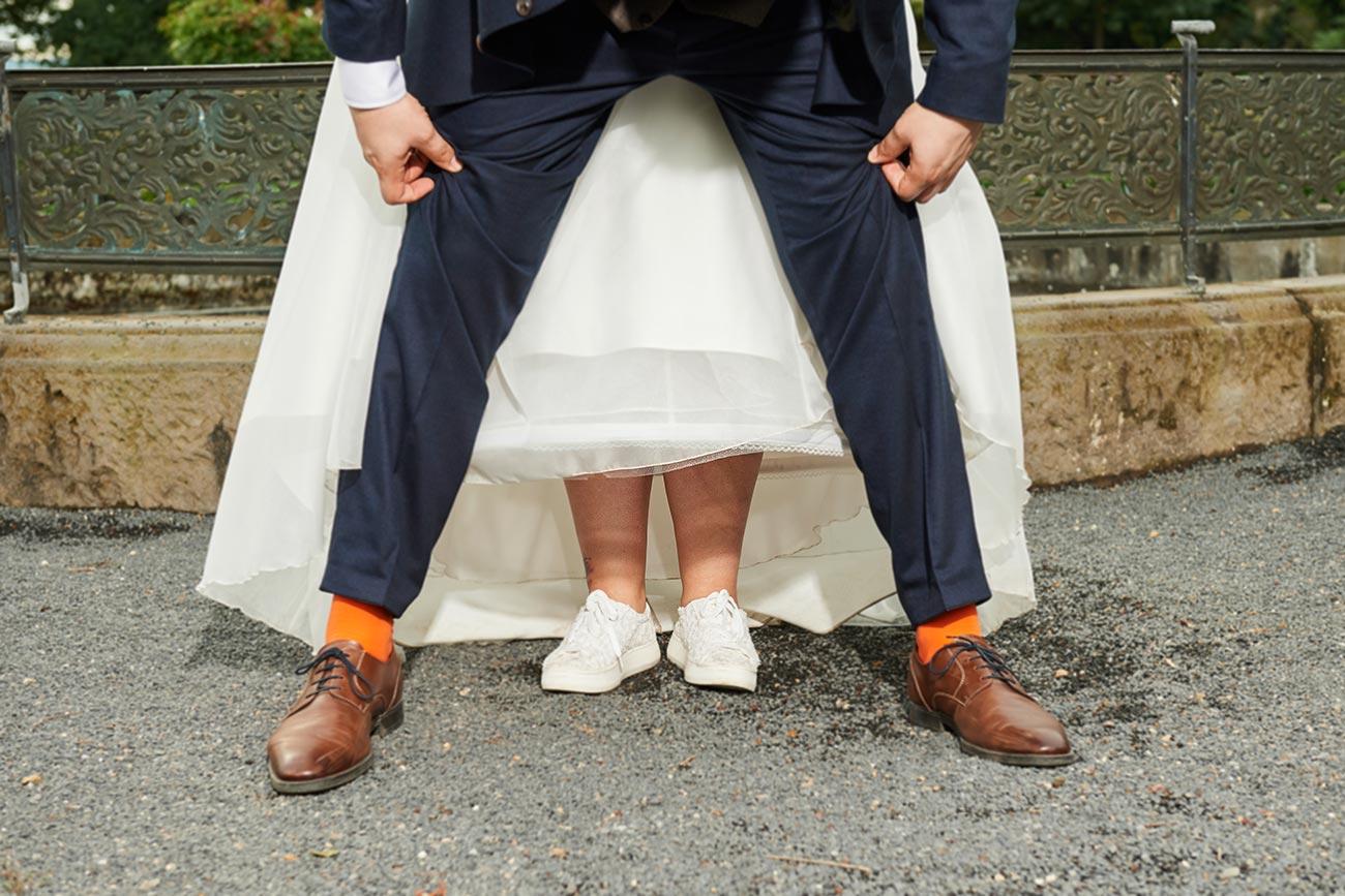 Brautpaar-Outfit – Hochzeitsfotos Neuwied