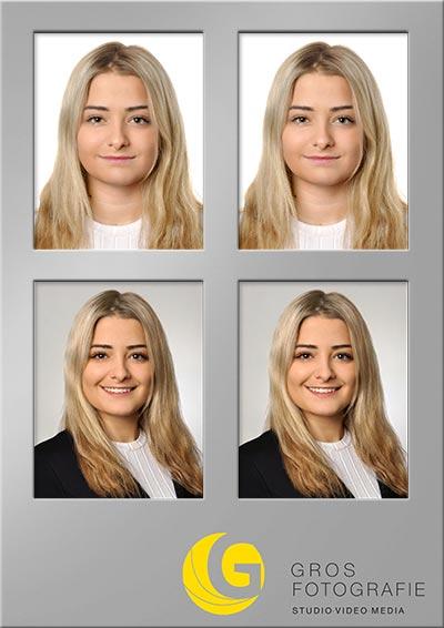Passfotos Spezial, 2 + 2 Set