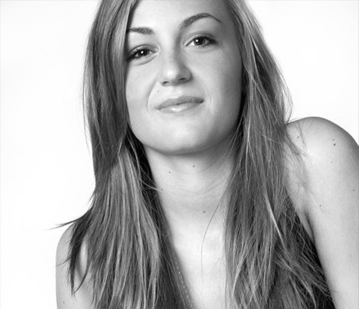 Portraitfotografie, Frau, SW