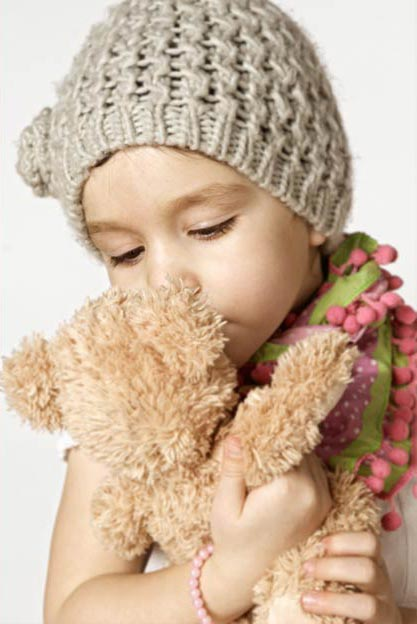 Portraitfotografie, Girl with Teddy