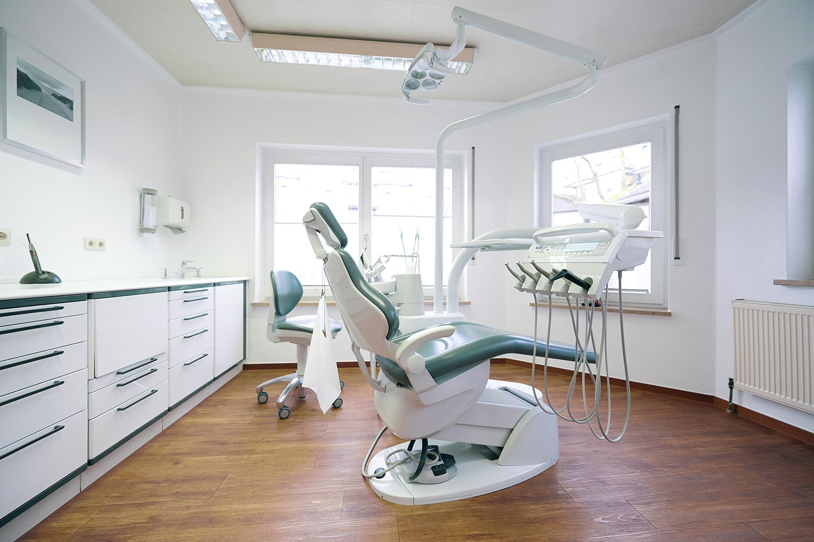 Praxisfoto Behandlungsraum in Limburg